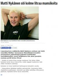 Matti Nykänen Mansikka